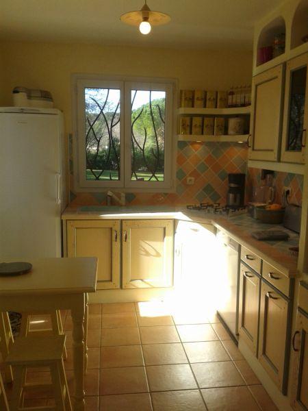 Separate kitchen Location Villa 113482 Vence