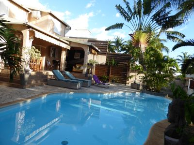 Swimming pool Location Villa 74576 La Saline les Bains