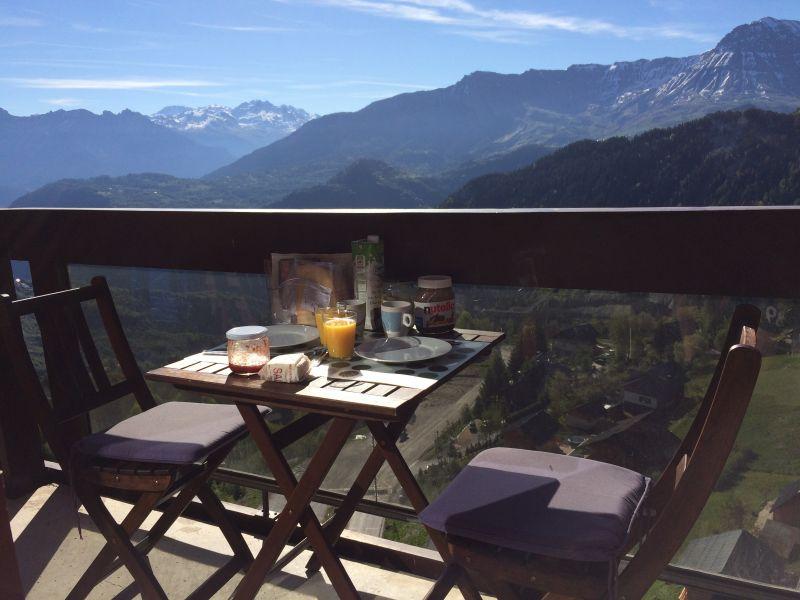 Balcony Location Apartment 80072 Le Corbier