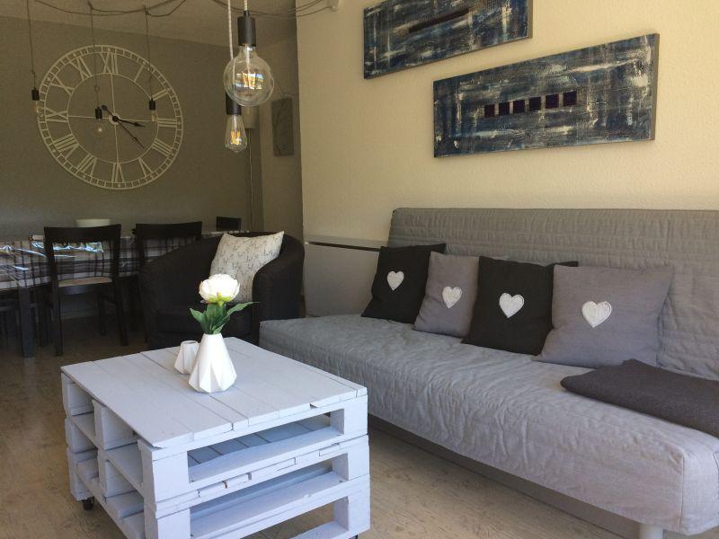 Living room Location Apartment 80072 Le Corbier