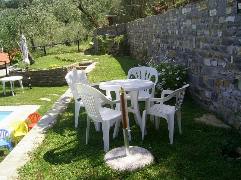 Garden Location Vacation rental 80842 Dolcedo