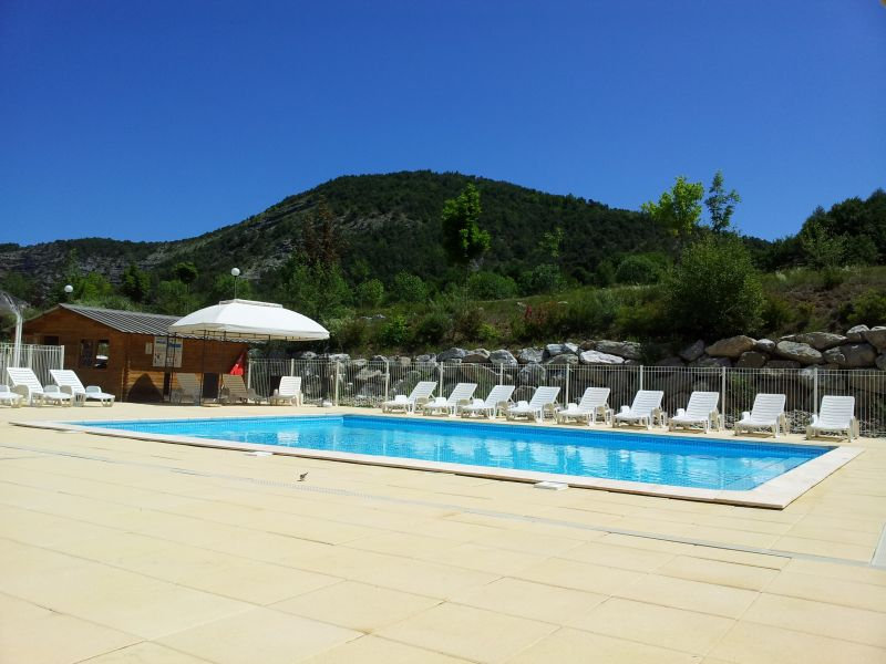 Swimming pool Location Mobile home 93371 Barcelonnette