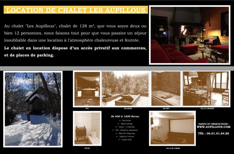 Map of property Location Chalet 94407 Puy Saint Vincent