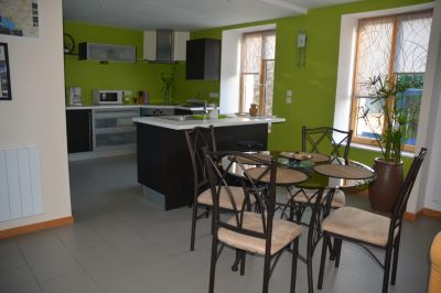 Open-plan kitchen Location House 100398 Saint Malo