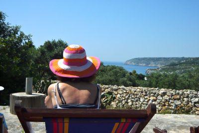 View from the property Location Apartment 106068 Santa Maria di Leuca