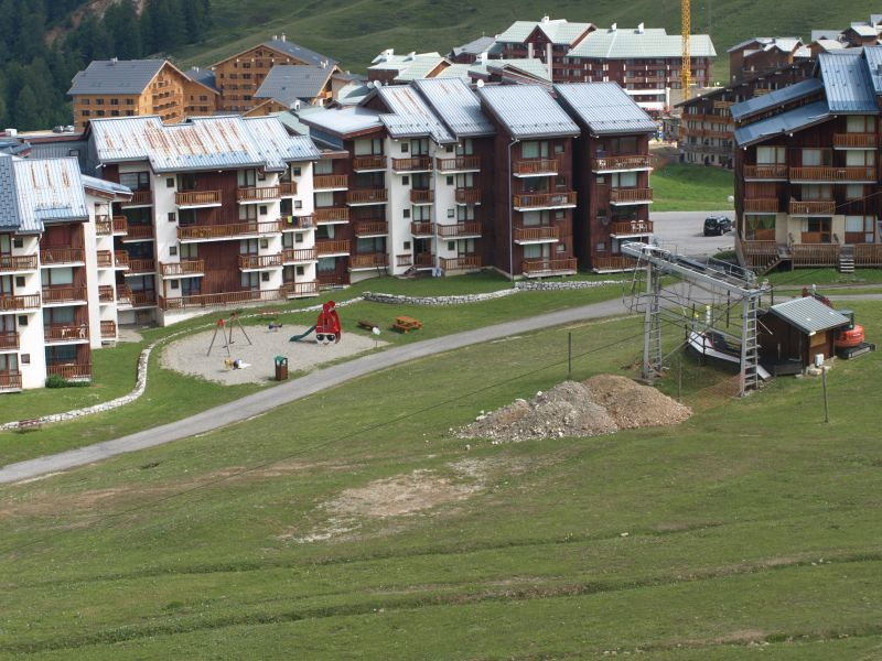 View of the property from outside Location One-room apartment 106820 La Plagne