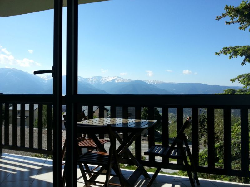 View from the balcony Location Apartment 108679 Font Romeu
