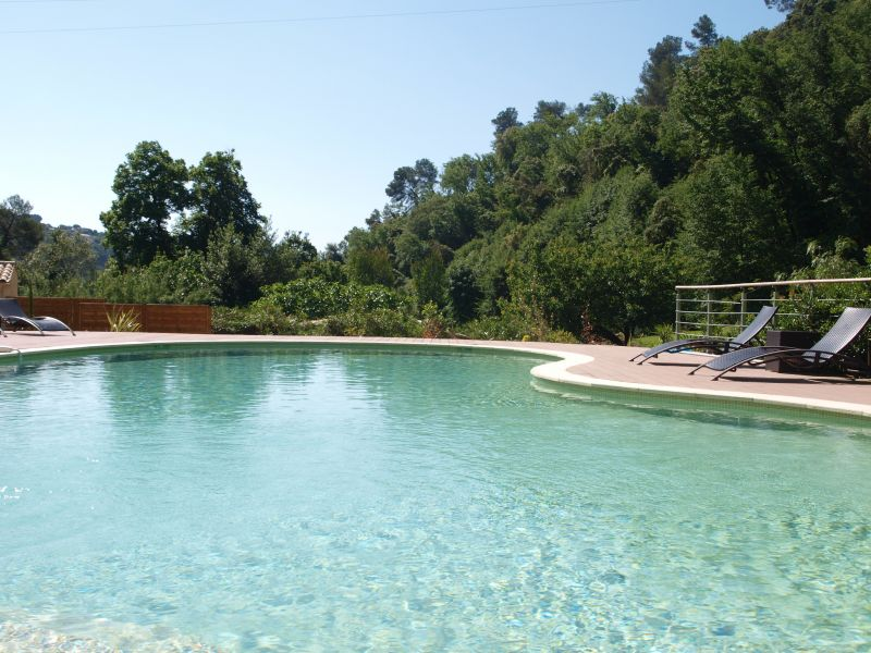 Swimming pool Location One-room apartment 108991 Cagnes sur Mer