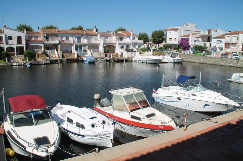 View from the terrace Location One-room apartment 109140 Empuriabrava