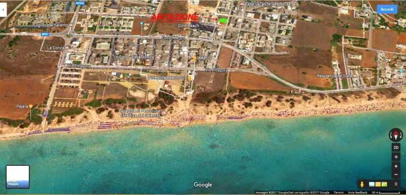 Beach Location Villa 114625 Pescoluse