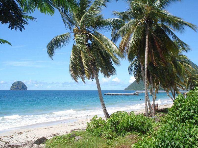 Beach Location One-room apartment 116462 Le Diamant