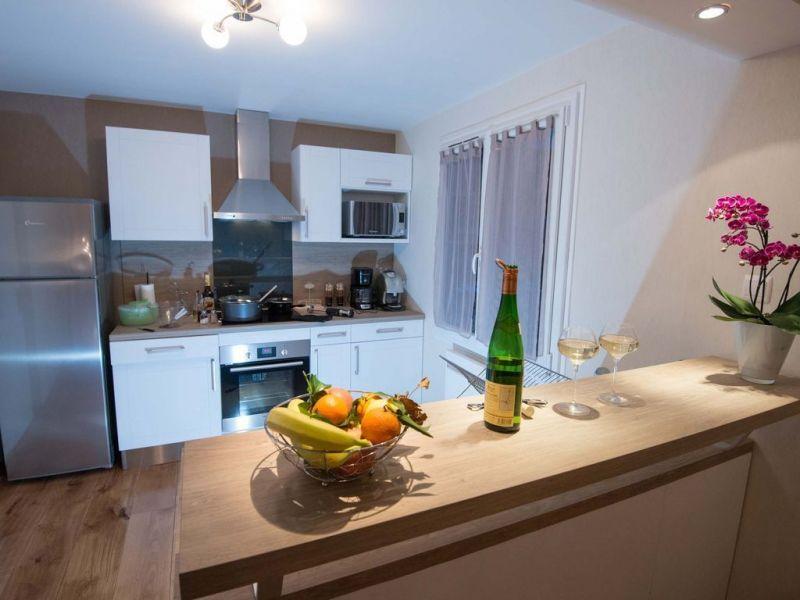 Open-plan kitchen Location House 116678 Xonrupt Longemer