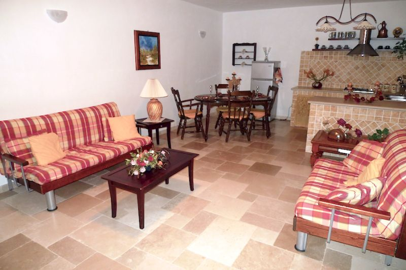 Living room Location Villa 63775 Ostuni