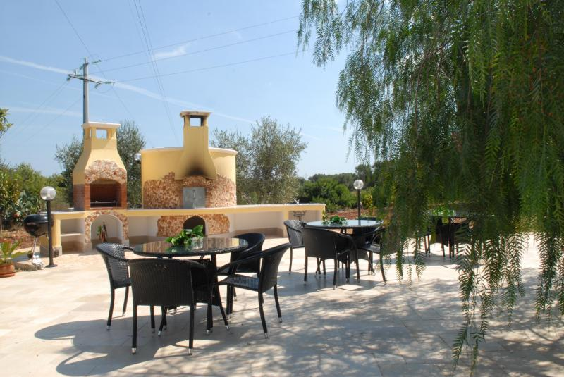 Summer kitchen Location Villa 63775 Ostuni