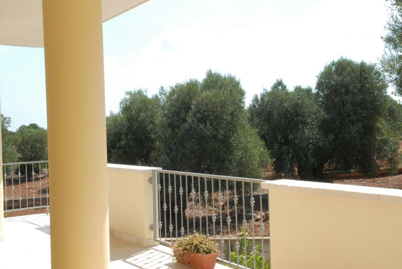 View from the balcony Location Villa 63775 Ostuni