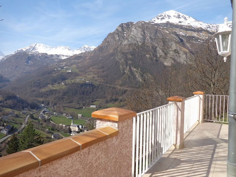 View from the terrace Location Vacation rental 65880 Gavarnie Gèdre