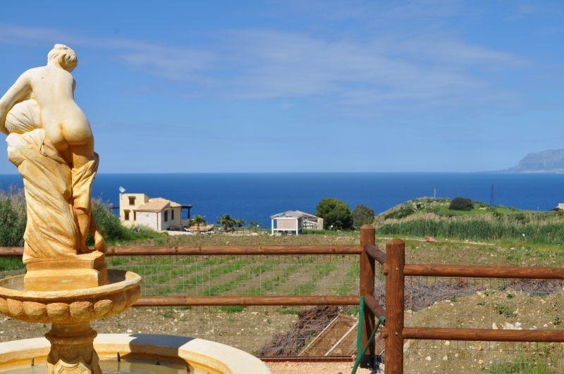 View from the balcony Location Villa 66027 Scopello