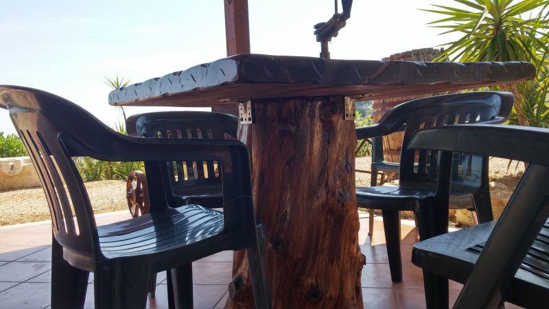 View from the terrace Location Villa 66027 Scopello