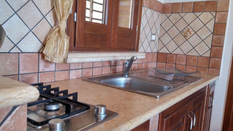 Kitchenette Location Villa 66027 Scopello