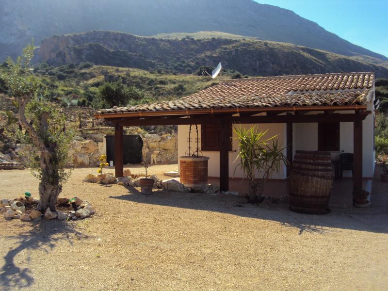 View from the property Location Villa 66027 Scopello
