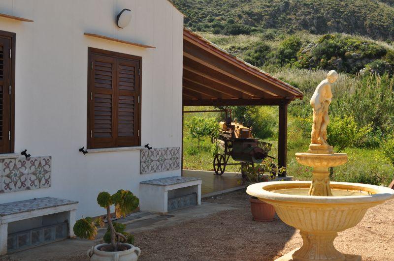 Porch Location Villa 66027 Scopello
