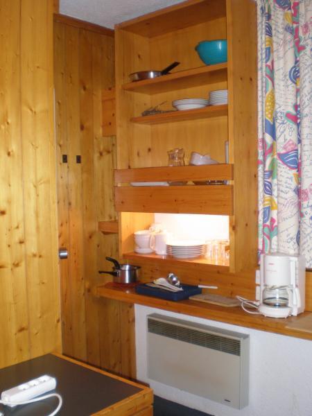 Kitchenette Location One-room apartment 68091 Les Arcs