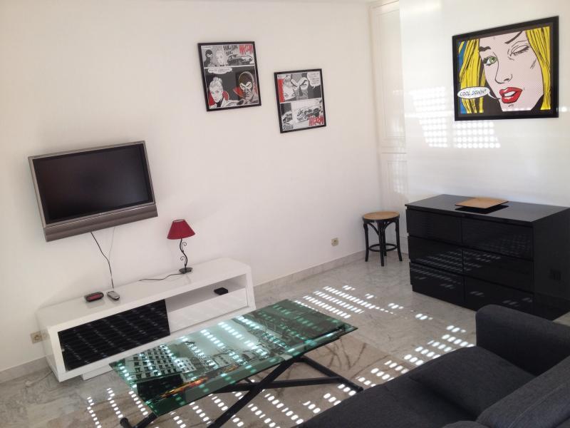 Living room Location Apartment 68767 Juan les Pins