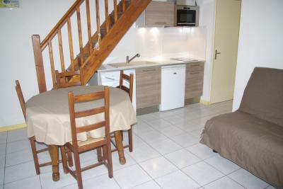 Open-plan kitchen Location Apartment 69387 Argeles sur Mer
