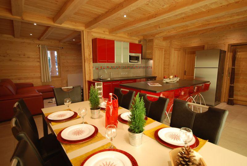 Open-plan kitchen Location Chalet 79917 Serre Chevalier