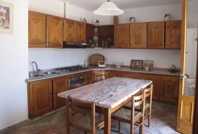 Open-plan kitchen Location Apartment 95923 Santa Maria di Leuca