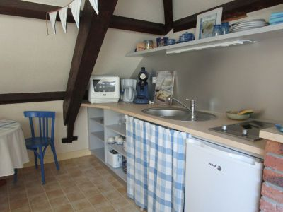 Location One-room apartment 10005 Asnelles