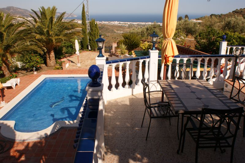 View from the terrace Location Villa 11479 Nerja