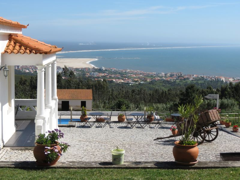 View from the terrace Location Bed and breakfast 11824 Figueira da Foz
