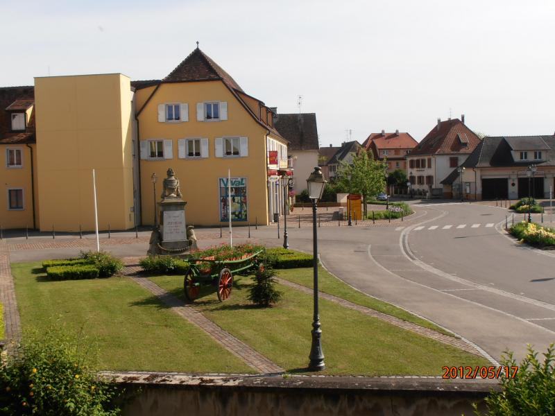 View from the property Location Vacation rental 13081 Colmar