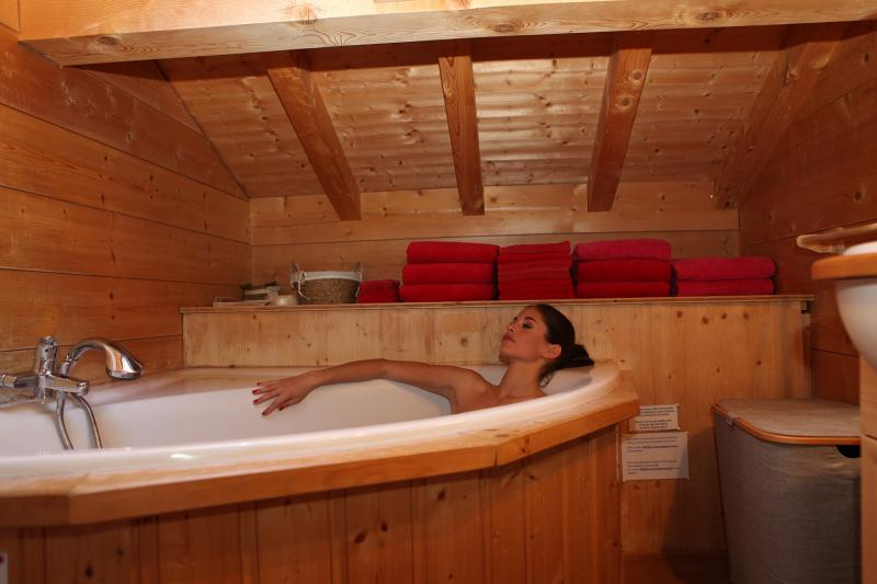 bathroom Location Chalet 1412 Chamonix Mont-Blanc