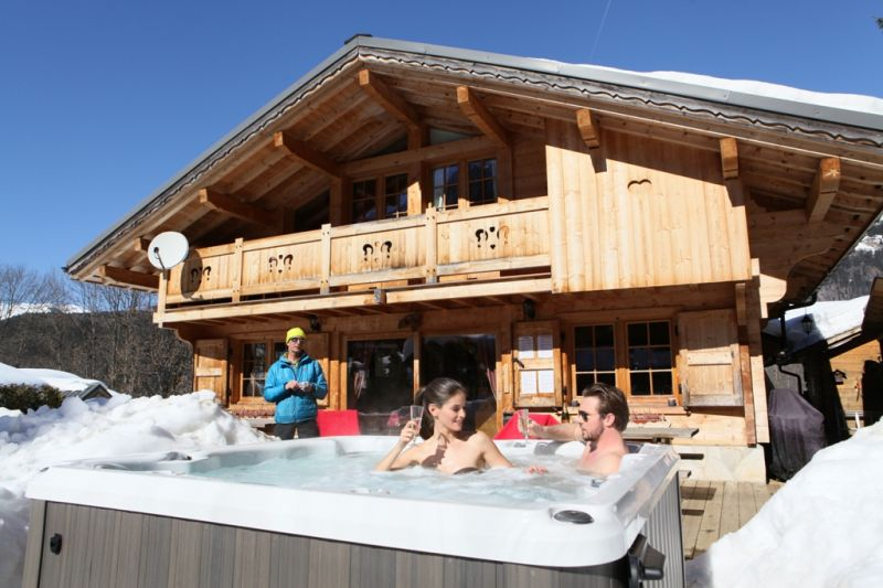 Terrace Location Chalet 1412 Chamonix Mont-Blanc