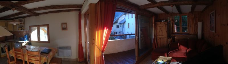 View from the balcony Location Apartment 14750 Serre Chevalier