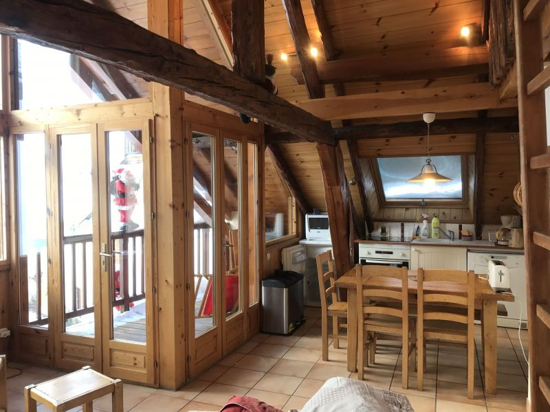 Dining room Location Apartment 14750 Serre Chevalier