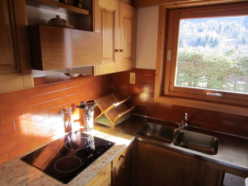 Separate kitchen Location Apartment 1528 Megève