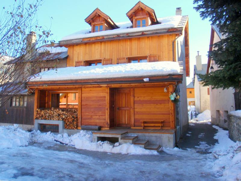 View of the property from outside Location Chalet 15369 Serre Chevalier