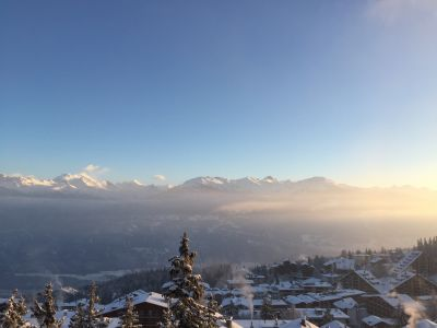 View from the terrace Location Apartment 15617 Crans-Montana