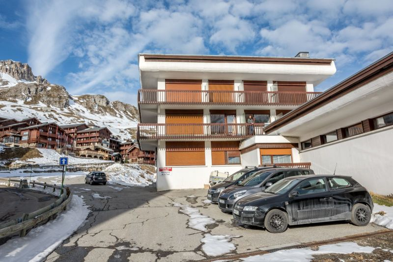 View of the property from outside Location One-room apartment 16043 Tignes