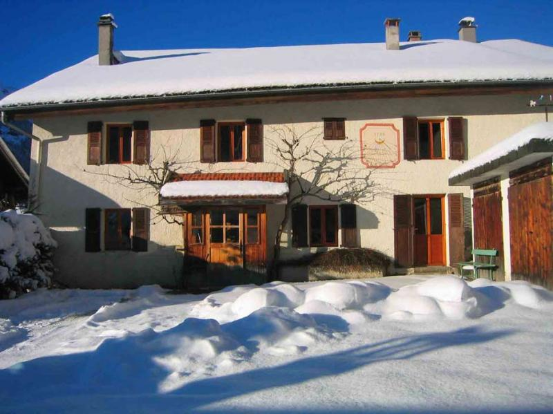View of the property from outside Location House 16107 Les Contamines Montjoie