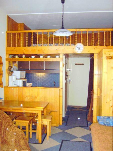 Mezzanine Location One-room apartment 1724 Les Menuires
