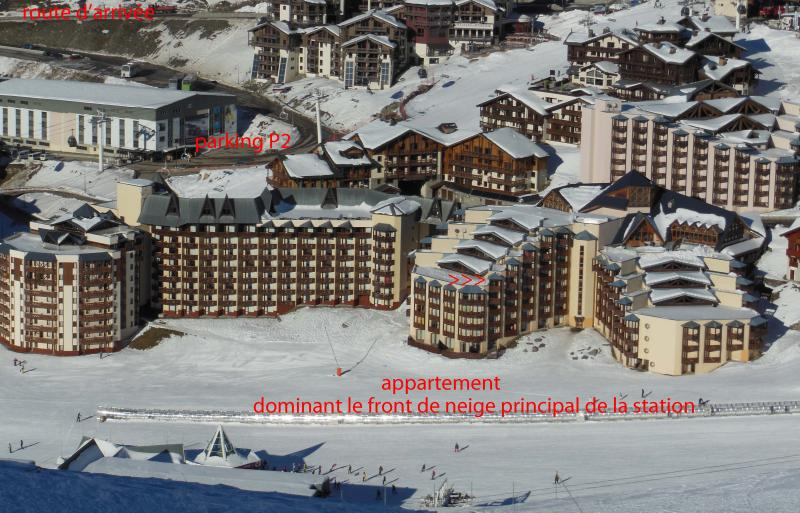 View of the property from outside Location Apartment 20123 Val Thorens