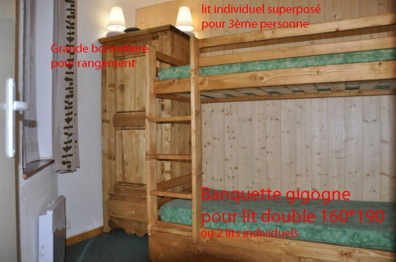 bedroom Location Apartment 20123 Val Thorens