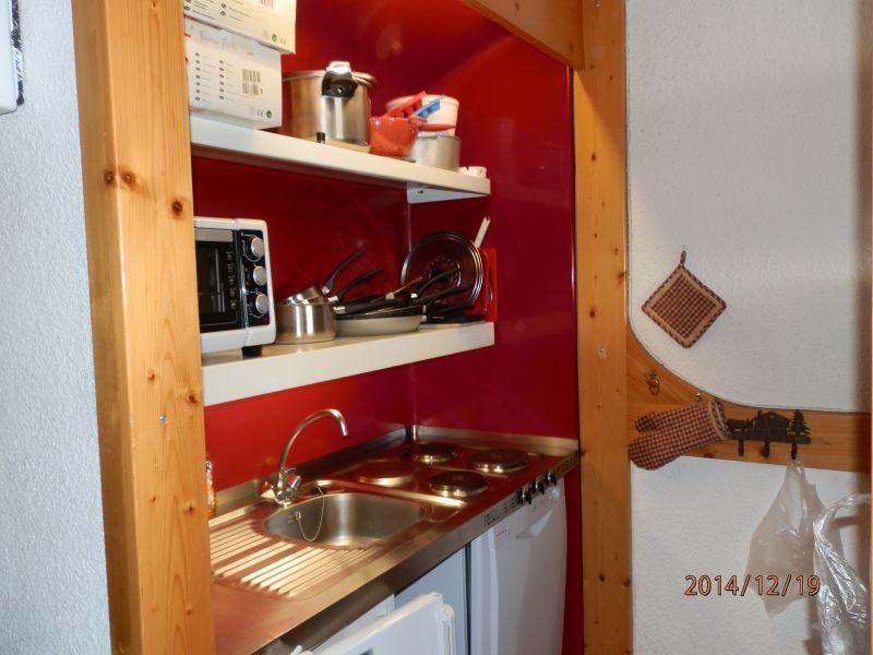 Open-plan kitchen Location Apartment 20181 Les Arcs