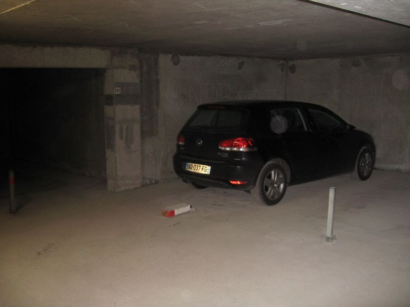 Parking Location One-room apartment 2089 Les Orres