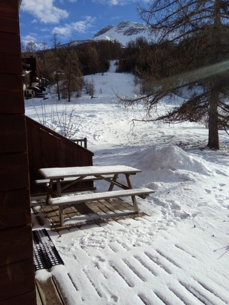 Terrace Location Chalet 2091 Les Orres
