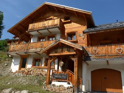 View of the property from outside Location Chalet 23134 Valloire